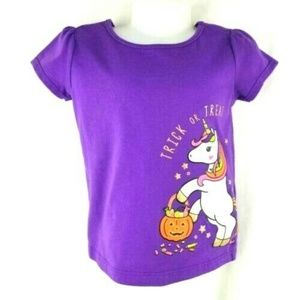Trick or Treat Unicorn Candy HALLOWEEN Purple 2T